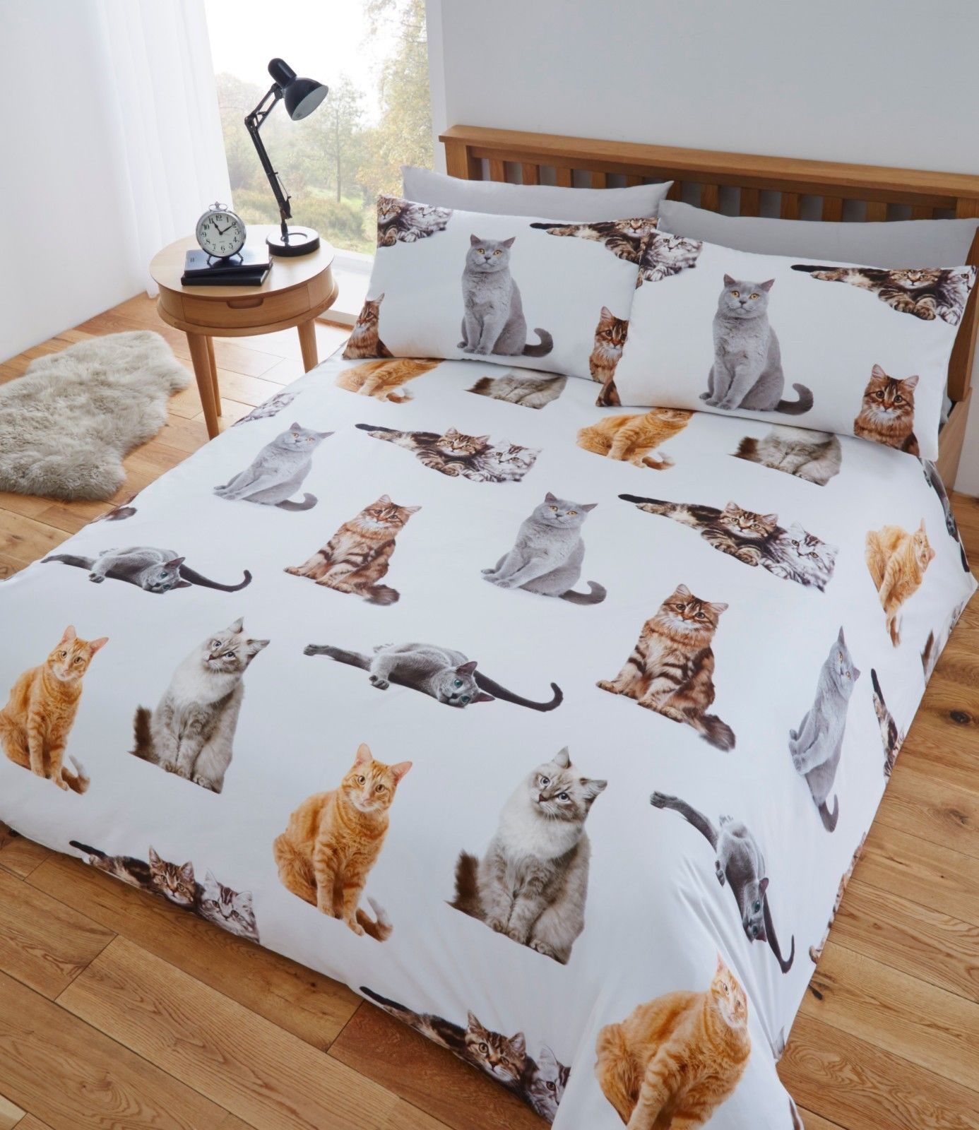 Fusion Quot Cats Quot Fun Amp Funky Easy Care Duvet Cover Bedding