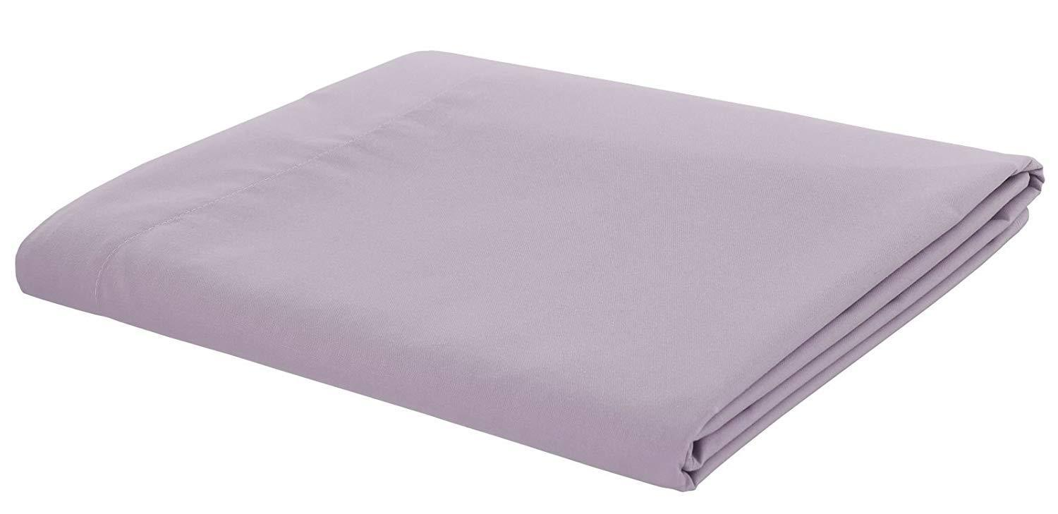 Catherine Lansfield Easy Iron Plain Percale Flat Fitted
